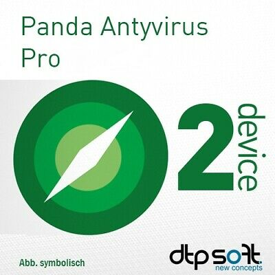 Panda AntiVirus Pro 2019 2 dispositivos 2 PC 1 año Multi-Device 2018 EU / ES