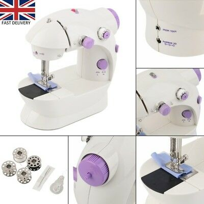 Mini Sewing Machine Small 2 Speed Household Sewing Tool Ideal For Beginners Kids