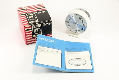 Vintage 1978 Smiths kitchen timer boxed