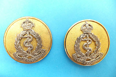 Pair Of Genuine Antique Hatpins. Military. Royal Army Medical Corps.