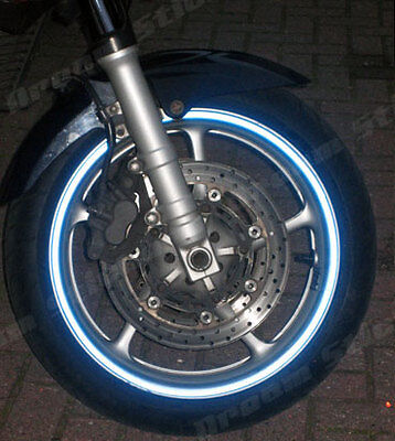 Reflective  Motorcycles Car  Wheel Rim Tapes 6Mm Or 10Mm