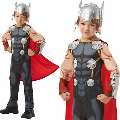 Boys Thor Costume Marvel Avengers Superhero Child Fancy Dress Outfit  sc 1 st  PicClick UK & BOYS THOR COSTUME Marvel Avengers Superhero Child Fancy Dress Outfit