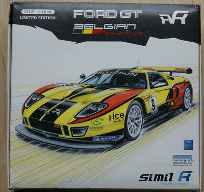 Simil'r 141104 - 1:24 Ford GT Belgian Racing - limited Edition