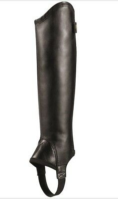 Ariat Concord Chaps Leather Riding Chaps/ Gaiters - NEW Size Small