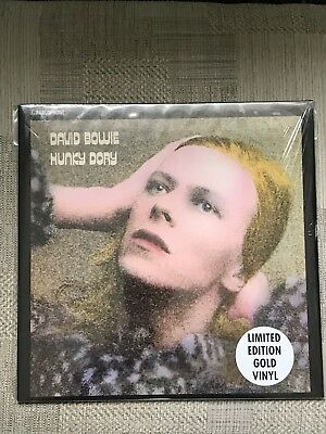 David Bowie Hunky Dory Gold Vinyl LP