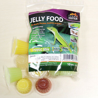 Jelly Food - Tropic-Mix 10 Stück im Beutel, Fruitjelly, Beetlejelly, 10 x je 16g
