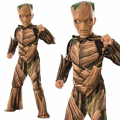 Boys Teen Groot Costume Guardians Of The Galaxy Fancy Dress Outfit