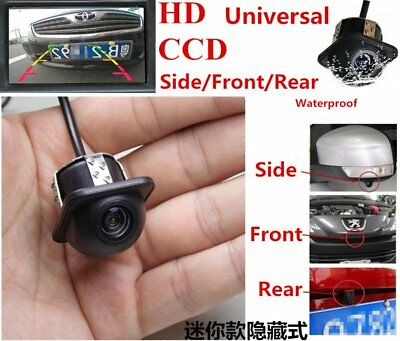 Car Rear View Side Front Mirror 170° View CCD Backup Parking Reversing Camera G6