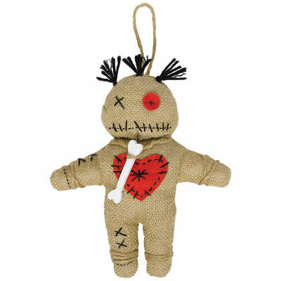 Voodoo Doll Toy Teddy Fancy Dress Costume Halloween Pin Cushion Kids Amscan