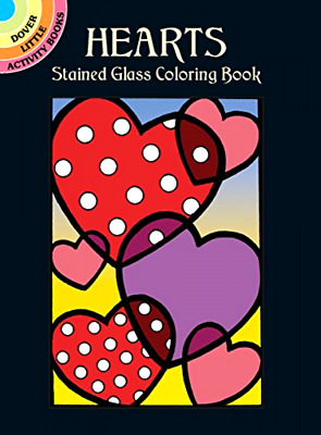 Heart Patterns Art Coloring Books Adults Kids Design Relax Stress Non Fiction
