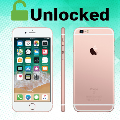 Apple iPhone 6s 16GB /64GB /128GB Verizon Unlocked Smartphone Rose Gold Gray