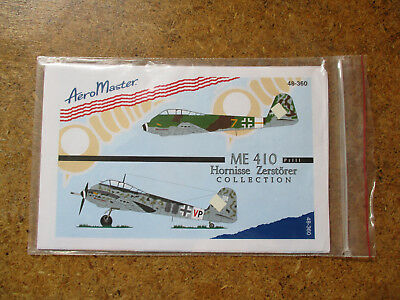 "Aero Master Decals 1:48 Nr. 48-360 ""Me 410 Hornisse Zerstörer Collection"""