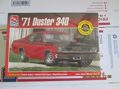 AMT 1971  340 Duster 1/25 scale Kit # 8437 factory sealed last one