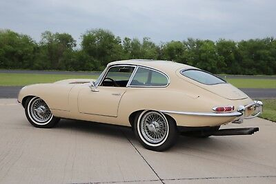 1967 Jaguar E-Type XKE, 1 owner from 1970, fully documented, no rust 1967 Jaguar E type XKE Fixed Head Coupe Manual trans.