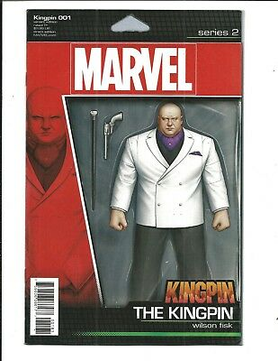 Kingpin # 1 (Christopher Action Figure Variant Cover, Apr 2017) Nm New
