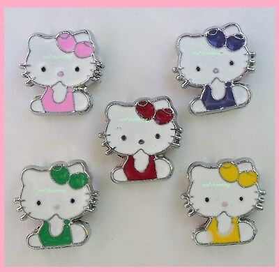 hello kitty OOPS charm living memory USA SHIP fit 8mm wristbands bands