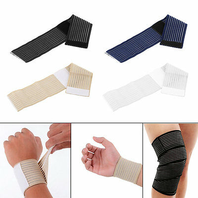 Knee Elbow Wrist Shin Ankle Hand Support Wrap Sport Bandage Compression Strap GP