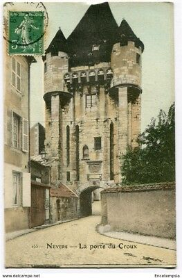 CPA - Carte postale - FRANCE - Nevers - La Porte du Croux - 1908 (CP3354)