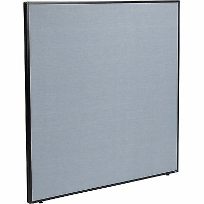 """60-1/4""""W x 60""""H Office Partition Panel, Blue, Lot of 1"""