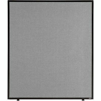 """36-1/4""""W x 42""""H Office Partition Panel, Gray, Lot of 1"""