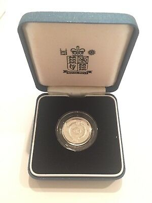 1996 U.K Great Britain Proof Silver 1 Pound Coin