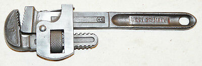 "Vintage 8"" Pipe Wrench Marked Made in West Germany INV13127"