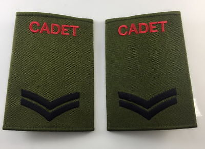 pair. Official ACF CCF Corporal CPL RANK SLIDE for MTP ( Army Cadet Force CADETS