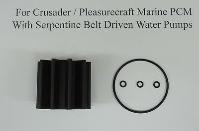 Impeller Kit Replaces Pleasurecraft Marine PCM RP061022 Sierra 18-8926 Mallory