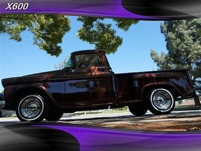 Truck 3100 Apache 1958 CHEVROLET Truck, Brown with 16,000 Miles available now!