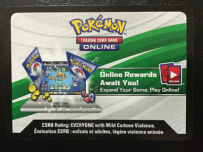 50x - SUN & MOON Pokemon PTCGO Online Booster Pack Codes SCANNED/EMAILED