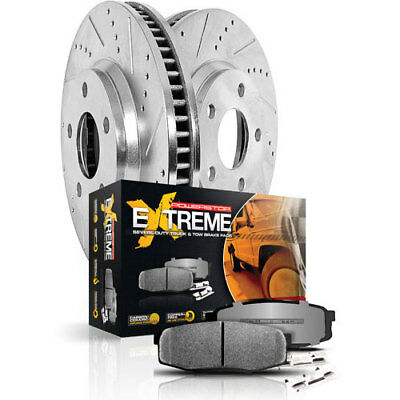 Power Stop K1935-36 Truck and Tow Z36 Brake Upgrade Kit Cross-Drilled/Slotted Ro