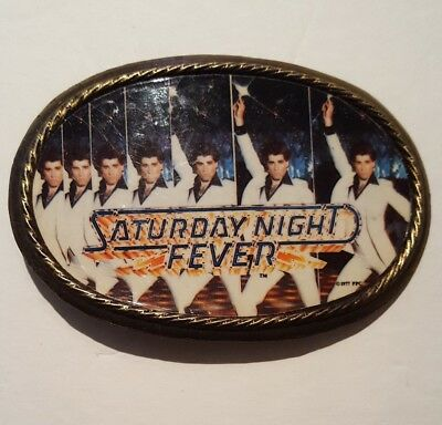 Vintage 1977 *Saturday Night Fever* Belt Buckle ~ Great Condition!!