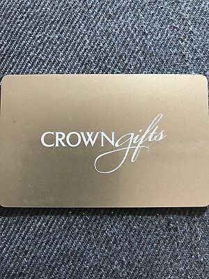 $200 Crown Giftcard for Crown resorts, restaurants and spa