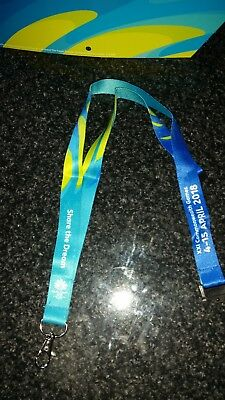 Official Gold Coast 2018 Commonwealth Games - GC2018 lanyard
