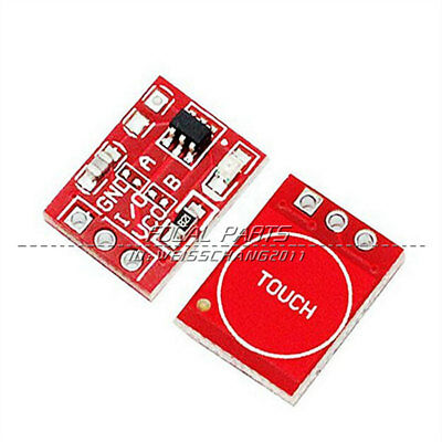 10 Pcs TTP223 2.5-5.5V Capacitive Touch Switch Self-Lock Module for Arduino N208