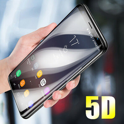 For Samsung Galaxy A6 A7 A8 Plus 2018 J7 5D Tempered Glass Film Screen Protector