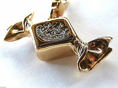 Authentic New  Juicy Couture Gold Hard Candy Charm In Box Very Rare Retired