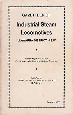 Industrial Steam Locomotives in the Illawarra & BHP Rail