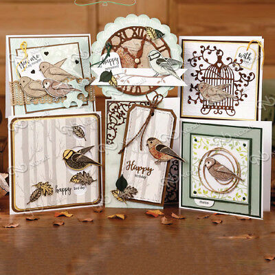 Bird Clear Silicone Stamp Seal For DIY Album Scrapbooking Photo Card Decors Gift