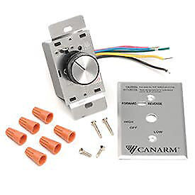 Canarm Variable Speed Switch Control for 4 Fans, Lot of 1