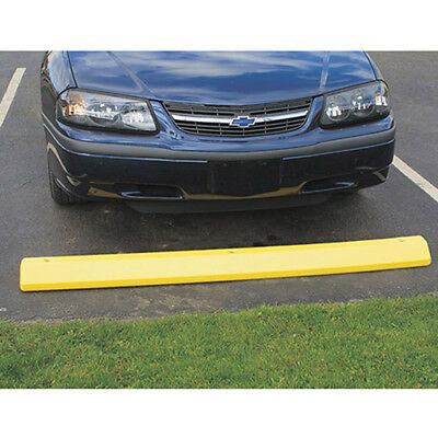 """EAGLE Poly Parking Stop - 72""""Wx8""""Dx4""""H - Safety yellow, Lot of 1"""