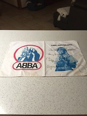 ABBA Genuine Mint Pillowcase Reg Grundy Productions 1970`s