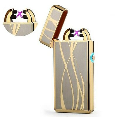 Arc Plasma Lighter USB Rechargeable Flameless Tesla lighter Windproof Electric