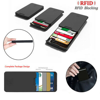 Zenlet The Ingenious Wallet BLACK with RFID Blocking Card The MINIMALIST WALLET