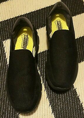 skechers go walk 3 mens black goga mat technology uk11 us12 eur45.5 sneakers