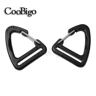 1'' Buckle Snap Hook Climbing Carabiner Hanging Keychain Link Backpack Strap