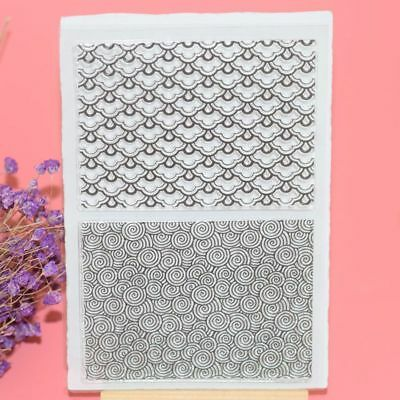 Decorative Clear Transparent Stamp Silicone Rubber DIY Crafts Scrapbooking