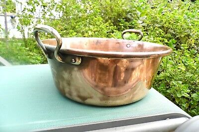 Jam Pan Victorian Copper large antique French Pan Preserving artisian confiture