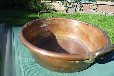 Jam Pan Victorian Copper large antique English Pan Preserving superb kitchen