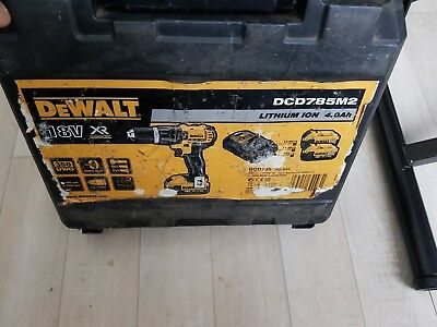 Perceuse à percussion sans fil DEWALT Dcd785m2, 18 V , 1 batteries